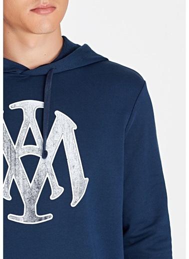 Mavi Mavi Lacivert Kapüşonlu Sweatshirt Lacivert